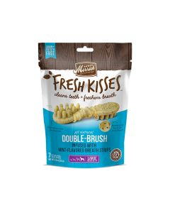 Merrick Fresh Kisses Mint Breath Strips For Large Dogs, 16 Pieces