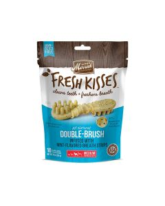 Fresh Kisses Mint Breath Strips For Medium Dogs, 22 Pieces