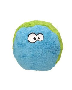 Cycle Dog Duraplush FuzzBall Dog Toy Green/Blue Large