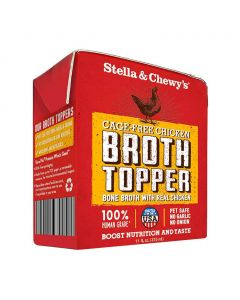 Stella and Chewys Cage-Free Chicken Broth Topper 11oz