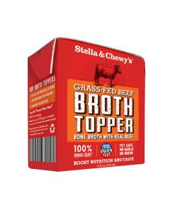 Stella and Chewys Grass-Fed Beef Broth Topper 11oz