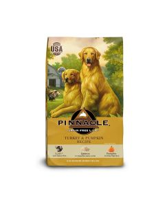 Pinnacle Turkey & Pumpkin Grain Free Dog Food 24lb