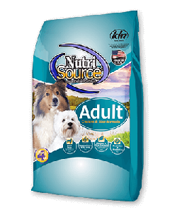 Nutrisource Chicken & Rice All Life Stages Dry Dog Food 15lb