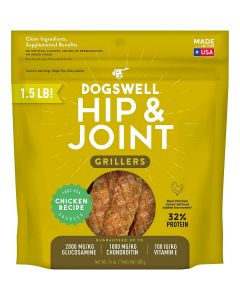 Dogswell Chicken Hip & Joint Grillers Dog Treats 24oz