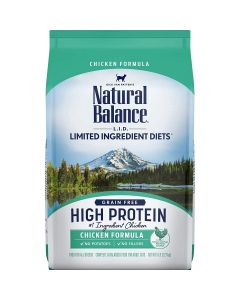 Natural Balance Limited Ingredient High Protein Chicken Dry Cat Food 5lb