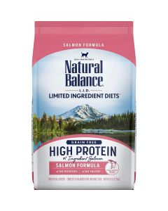 Natural Balance Limited Ingredient High Protein Salmon Dry Cat Food 5lb