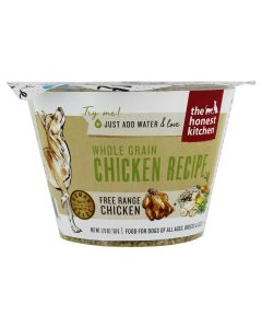 Honest Kitchen Whole Grain Chicken Recipe Dehydrated Dog Food 1.75oz Cup