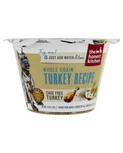 Honest Kitchen Cage Free Whole Grain Turkey Recipe 1.75oz Cup
