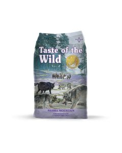 Taste of the Wild Sierra Mountain with Lamb Dry Dog Food 28lb