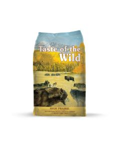 Taste of the Wild High Prairie with Bison Dry Dog Food 14lb