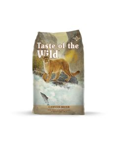 Taste of the Wild Canyon River with Trout Dry Cat Food 14lb