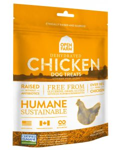Open Farm Dehydrated Chicken Treats for Dogs 4.5oz