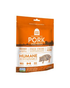 Open Farm Dehydrated Pork Treats for Dogs 4.5oz