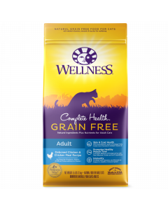 Wellness Complete Health Grain Free Adult Chicken Recipe for Cats 5.5lb