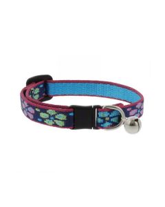 "Collar Cat with Bell 1/2"" Wide X 8-12"" Flower Power"