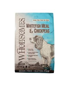 Sportmix Wholesomes Grain-Free Whitefish Meal and Chickpeas Dog Food 40lb